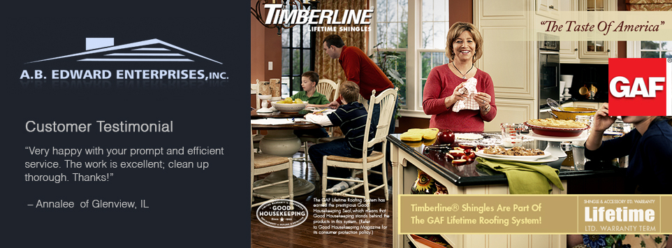 GAF Timberline Lifetime Architectural Roofing Shingles