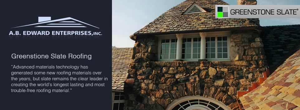 Greenstone Slate Roofing